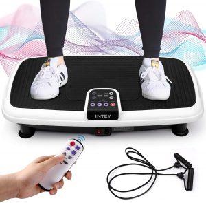 Plateforme Vibrante Oscillante pour Fitness, 6 en 1 Multifonctions